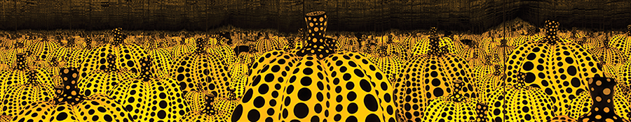 Yayoi Kusama's All the Eternal Love I Have for the Pumpkins Exhibit